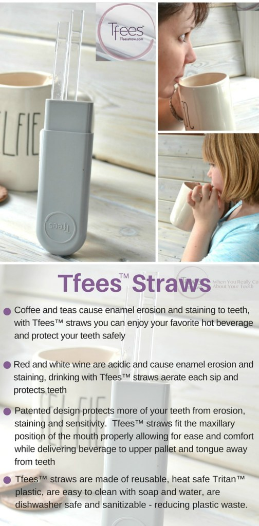 Tfees Straws - protect your teeth from staining and erosion