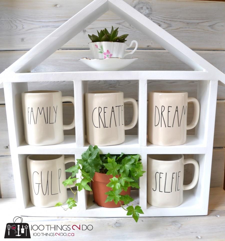 DIY Coffee Mug Shelf 2 - 11