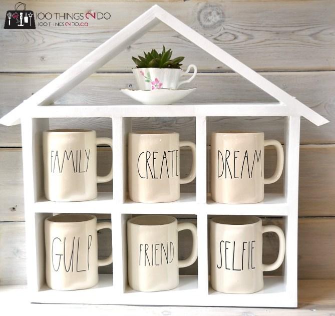 DIY Coffee Mug Shelf 2 - 4