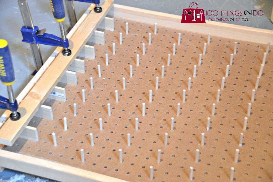 How to make a Plinko board
