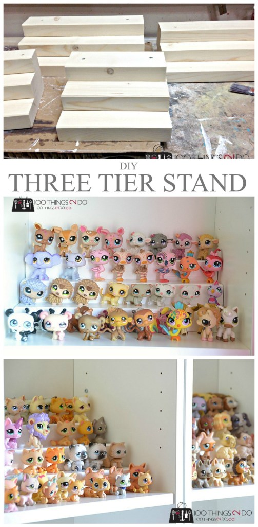 Three tier stand - easy DIY