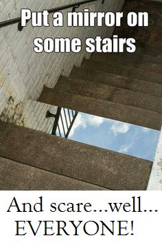 Too funny - stairs