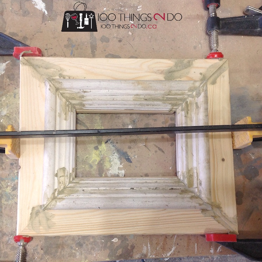 How to make rustic frames 6