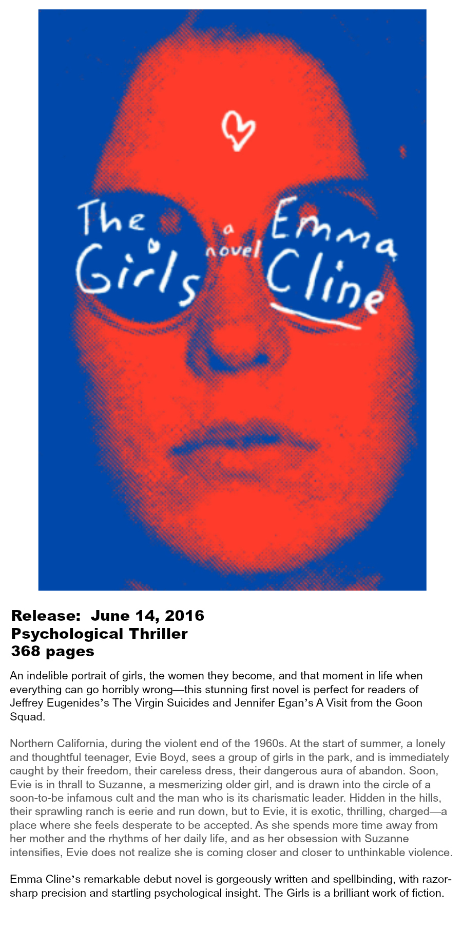 Must-read Books of Summer 2016 - The Girls Emma Cline