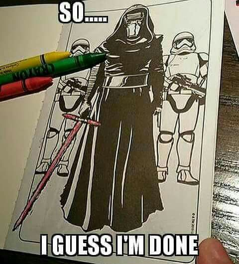too funny - Star Wars