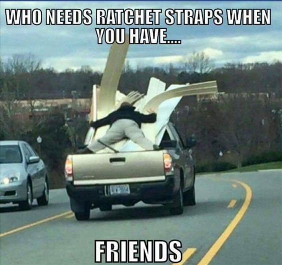 Too funny - that's what friends are for