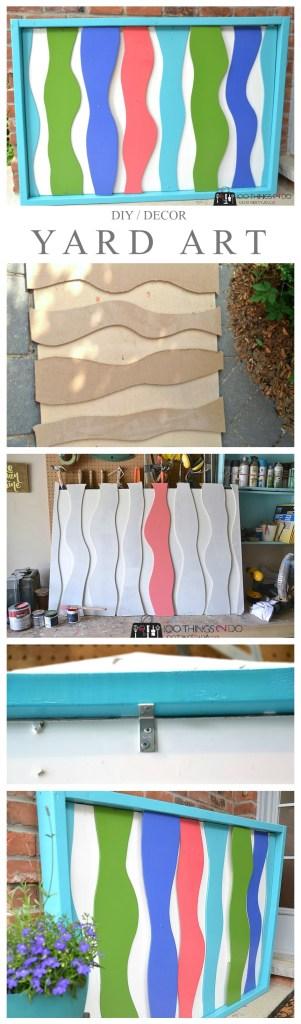 DIY Yard Art - Sea Kelp
