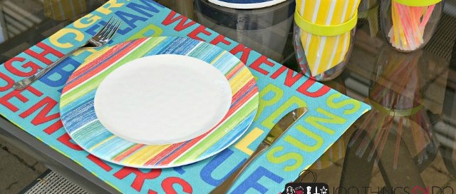 Easy, DIY No-Sew Placemats