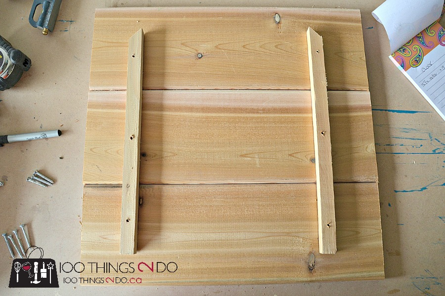 Make your own outdoor clock