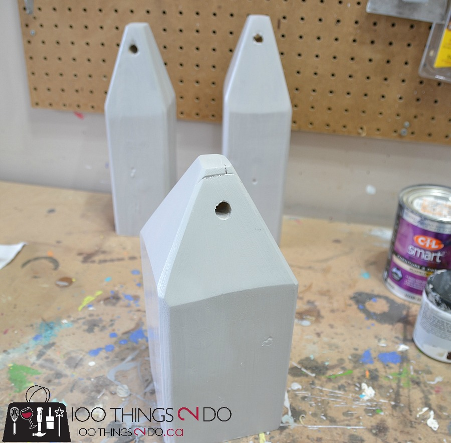 Pottery Barn Knock-off Wooden Buoys, DIY wooden buoys, coastal decor, PB inspired buoys