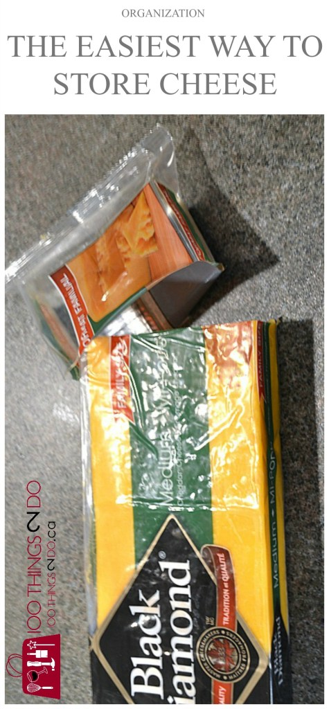 Easy and brilliant hack - how to store cheese. Storing cheese.