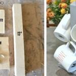 Mug stand, Mug tree, mug rack, DIY cup stand, coffee cup holder, coffee mug tree, DIY gift idea, scrap wood project