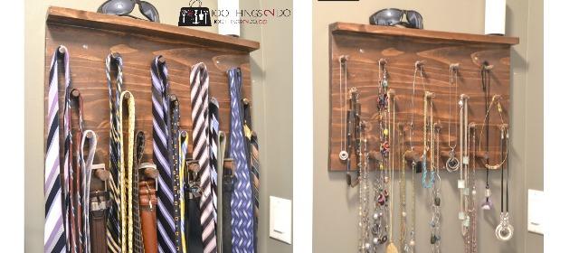 DIY Tie Rack Great Gift Idea 100 Things 2 Do