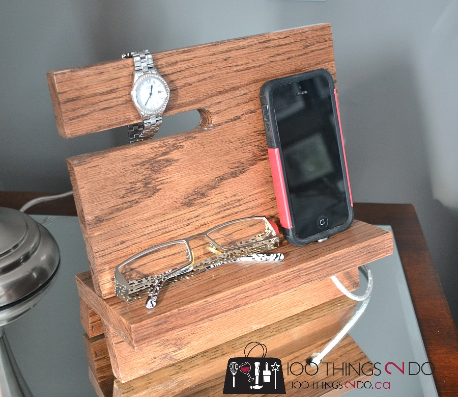 Diy Wood Iphone Stand Nightstand Valet 100 Things 2 Do