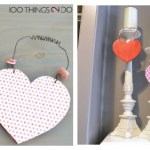Heart decor, heart decorations, valentine's day decoration, valentine's hearts, heart door hangers, easy heart crafts