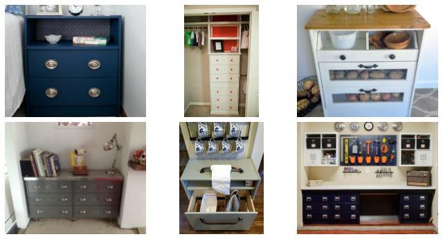 Ikea Rast hacks, 50 of the best Ikea Rast hacks, painted dresser, dresser makeover, Ikea rast makeover, nightstand, bedside table, Ikea hacks