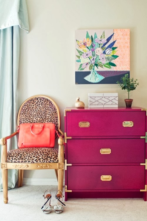 Ikea Rast hacks, 50 of the best Ikea Rast hacks, pink campaign dresser, Ikea rast makeover, nightstand, bedside table, Ikea hacks