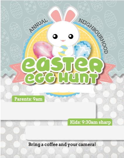 Easter egg hunt, Easter egg hunt invitation, Easter invitation, Easter bunny invite, egg hunt invite