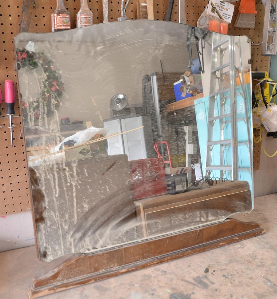 Diy Garden Mirror Repurposed Dresser Mirror 100 Things 2 Do