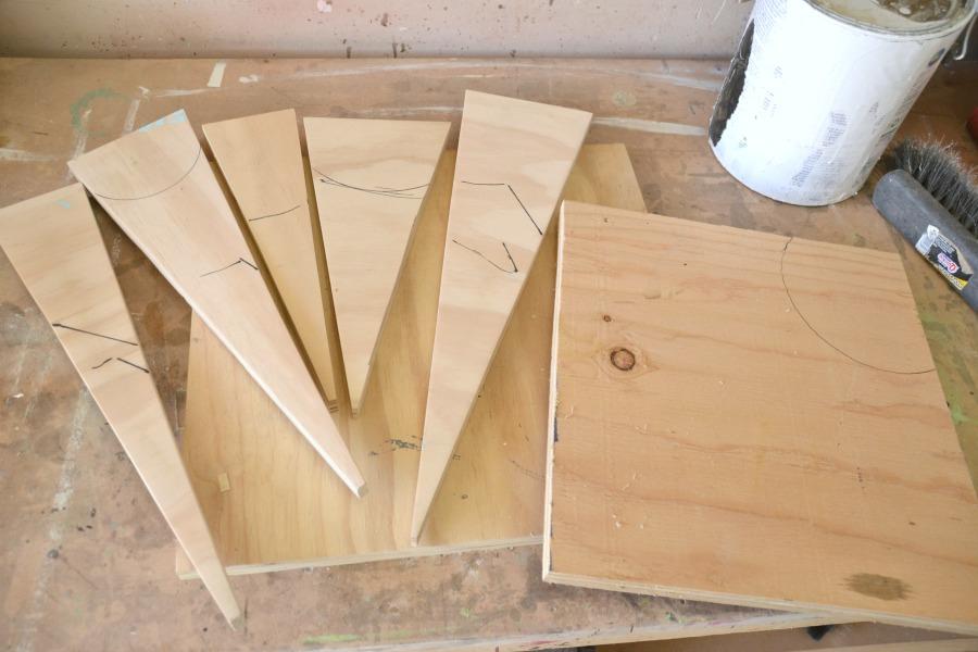 Scrap wood sign, scrap wood project, Here comes the sun, wood sign, diy &#91;...&#93; </p srcset=