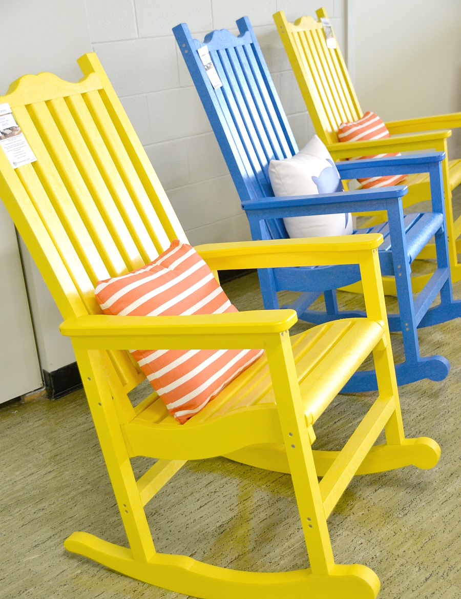 Adirondack chairs, Muskoka chairs, composite furniture, upcycled furniture, patio furniture, recycled patio furniture, C.R. Plastic Products, CRP Products, recycled plastics