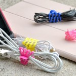 Organizing power cords, cord organization, cord wraps, dollar store organizing, ipad cord, iphone cord, cord storage