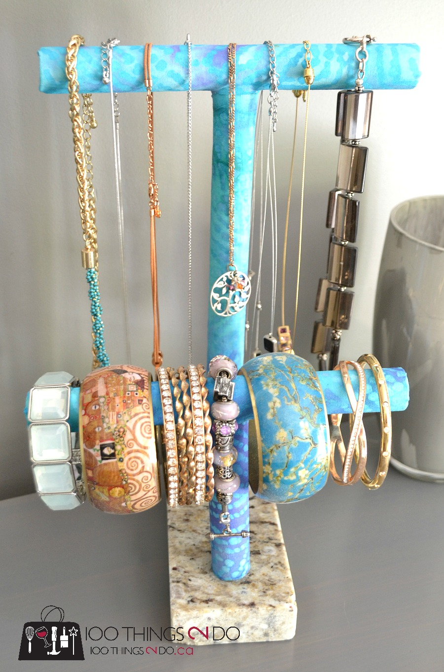 DIY Jewelry Holder PVC Pipe Project 100 Things 2 Do