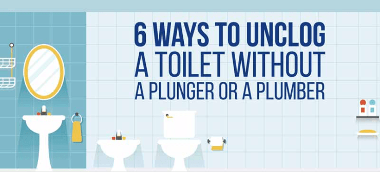 How to Unclog a Toilet (without a plunger) - 100 Things 2 Do