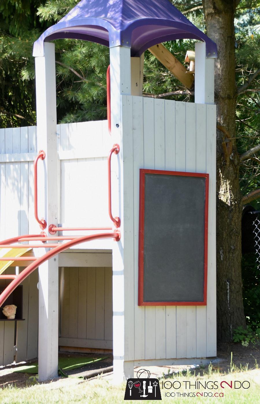 DIY chalkboard, chalkboard paint, create a chalkboard, how to build a chalkboard, Benjamin Moore chalkboard paint, Clancy's Rainbow