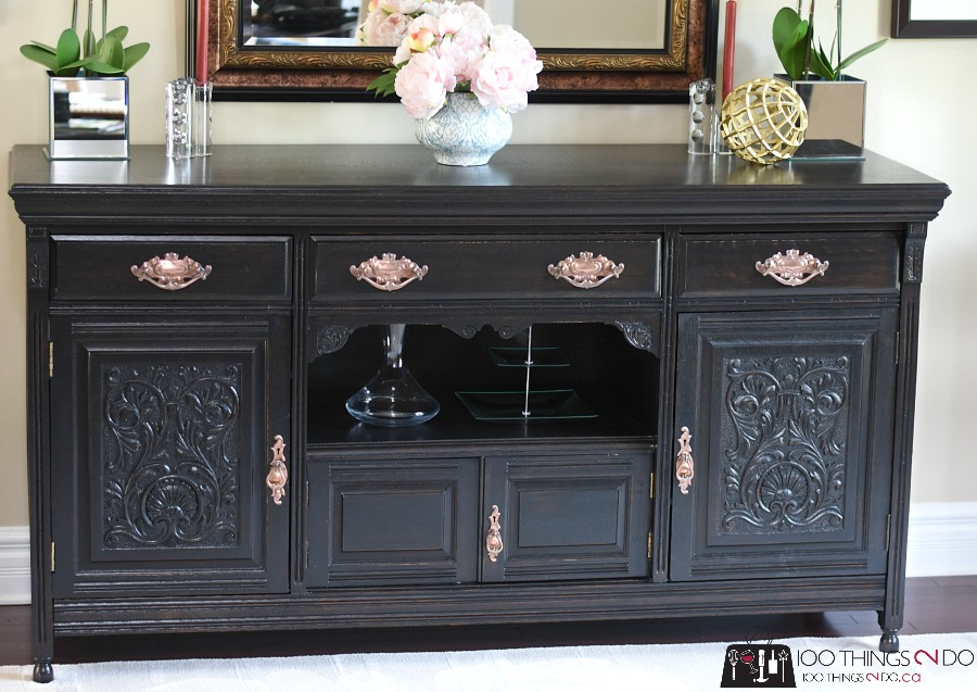 Dining Room Buffet Sideboard Makeover My Favourite