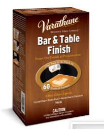 Varathane Bar & Table finish