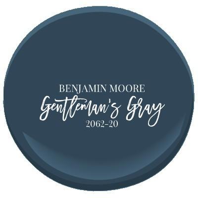 Benjamin Moore Gentleman's Gray
