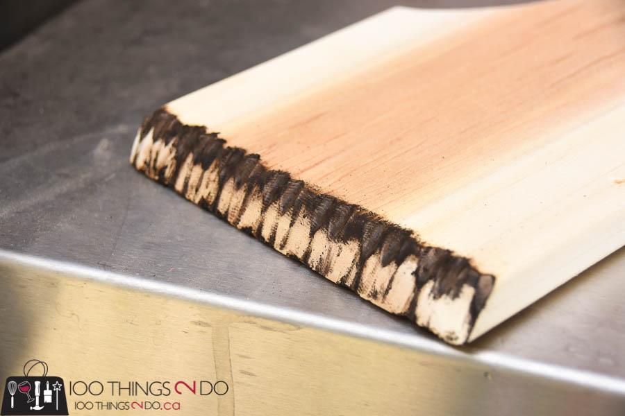 Barbecue scraper, wood bbq scraper, cedar scraper, DIY barbecue scraper