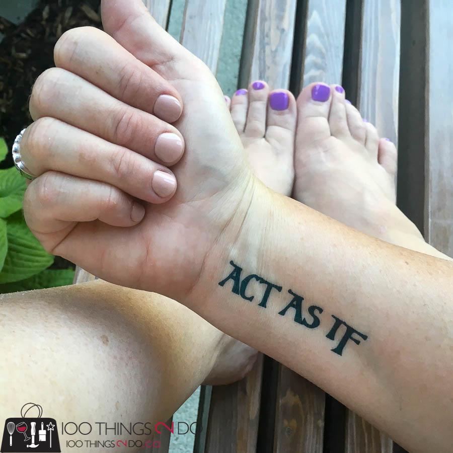 Haven 2017, Haven conference, blogging conference, DIY bloggers, Atlanta, Conscious Ink, temporary tattoo