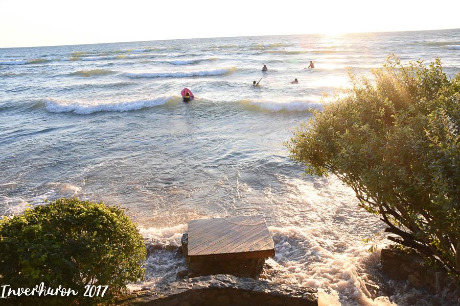 Cottage living, Inverhuron, Lake Huron, beach, Kincardine, summer vacation