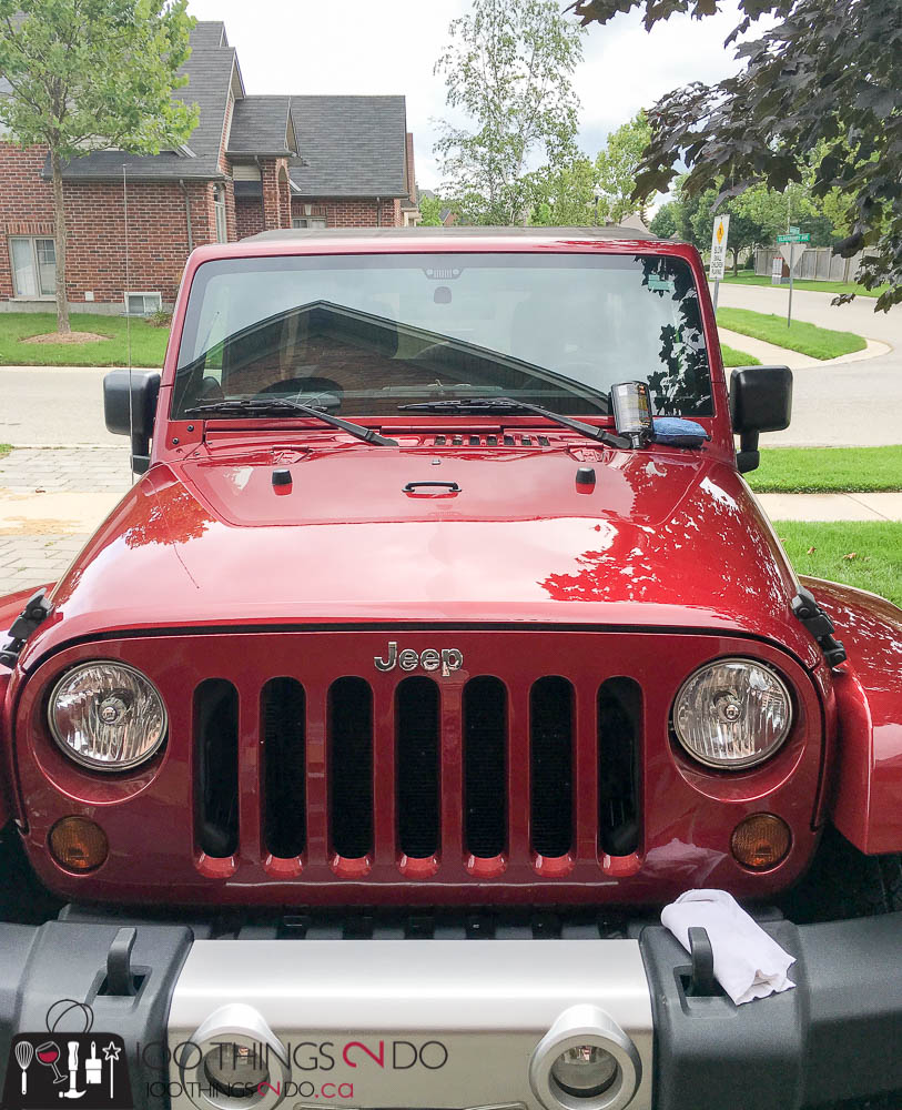 how to detail your car, swirl remover, car detailing, Jeep, it's a jeep thing