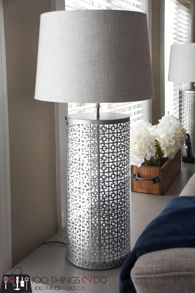 How to make a lamp, make your own lamp, decorative metal lamp, pewter lamps, DIY lamps, MD Building Products