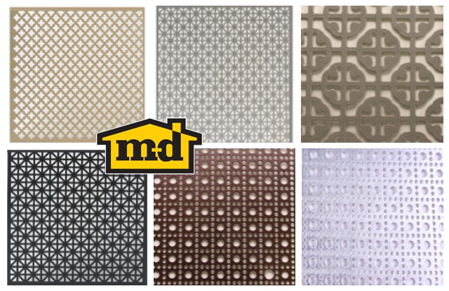 MD Building Products, metal sheets, decorative metal sheets, sheet metal