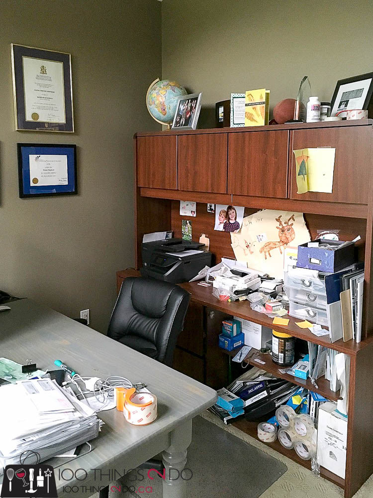 my home office. Home Office Makeover, Office, ORC Challenge, One Room Challenge My