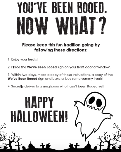 graphic regarding You've Been Boozed Printable referred to as Halloween Exciting - Youve been BOOD!! 100 Variables 2 Do