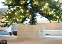 DIY Christmas Tree Stand - 100 Things 2 Do