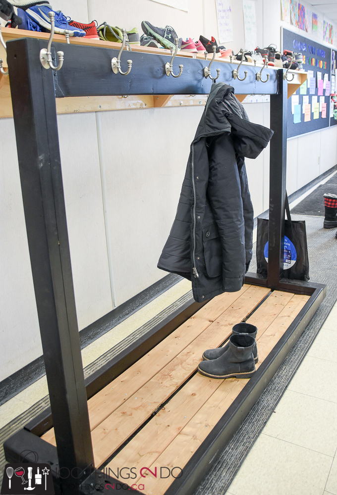 Portable Coat Rack Classroom Diy For Multiple Coats Rolling With Racks