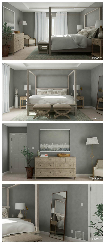 Grey master bedroom, Gray master bedroom, master bedroom, neutral master bedroom, decorating a master bedroom, designer master bedroom