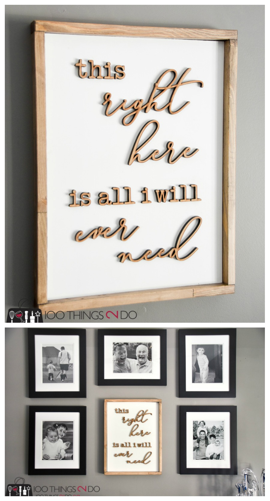 Simple rustic wood frames 100 things 2 do rustic wood frames simple wood frames how to make simple frames 1x2 picture jeuxipadfo Images