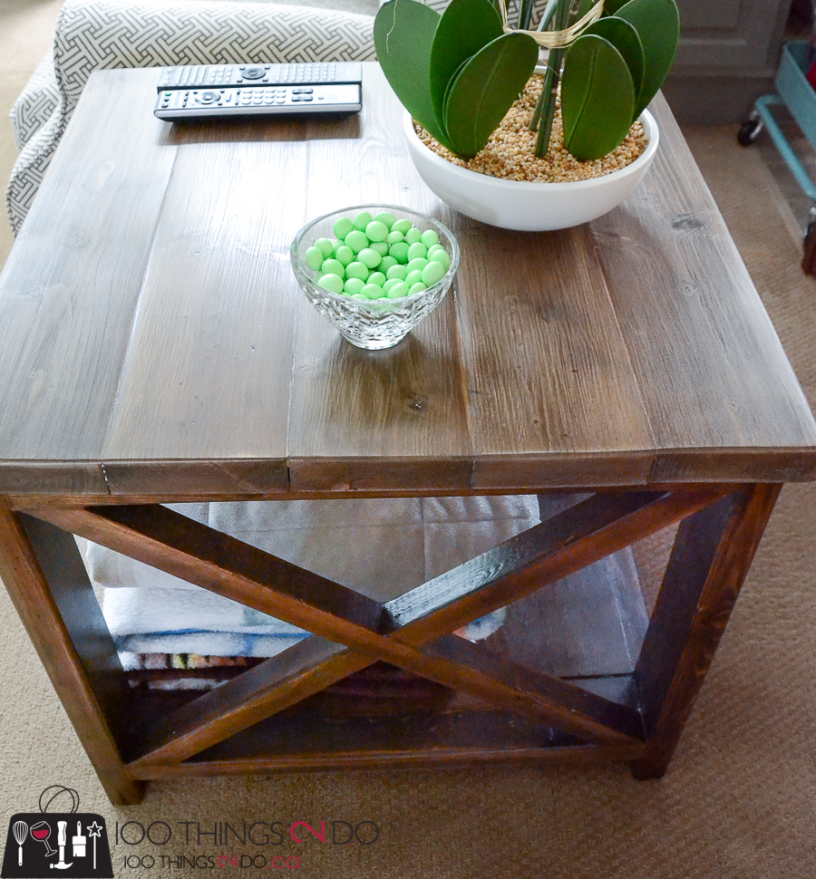 10 DIY Furniture Projects for Beginners, DIY furniture, beginner builds, easy DIY furniture, rustic x side table, accent table, DIY side table