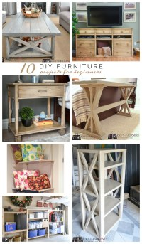 10 DIY Furniture Projects for Beginners - 100 Things 2 Do
