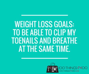 Weight-loss goals