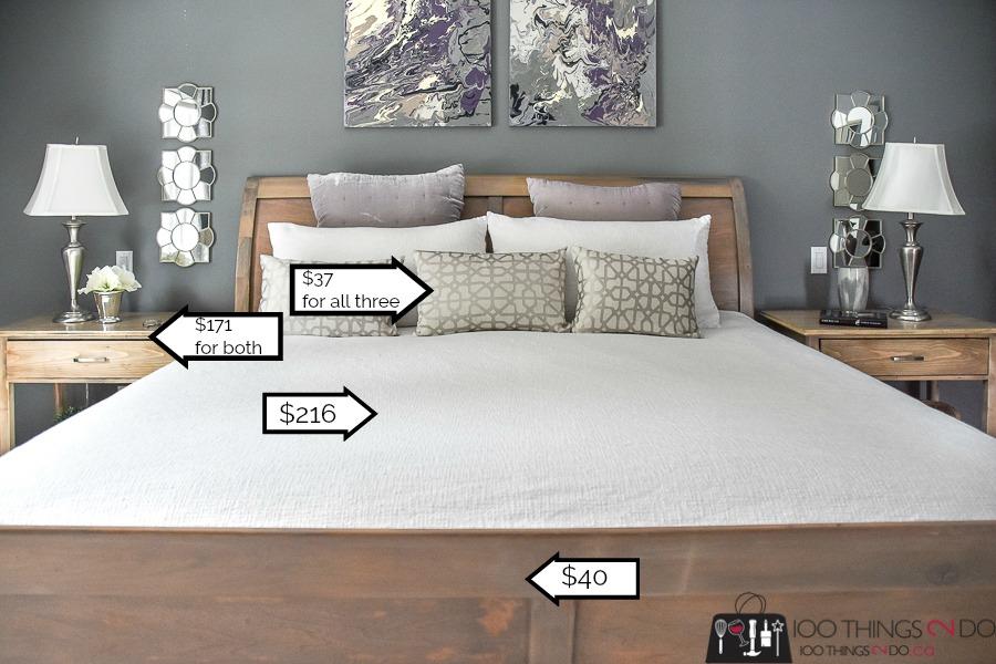 Master bedroom makeover, makeover your master bedroom, grey master bedroom, DIY bedroom makeover, gray bedroom
