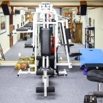 Basement Gym, home gym, home gym makeover, ORC 2018, One Room Challenge