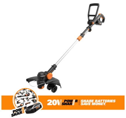 "WORX GT Revolution 20V 12"" String trimmer / lawn edger / mini-mower, Worx yard tools, whipper snipper, lawn edger, weed whacker, best yard tools 2018, best weed eater 2018"